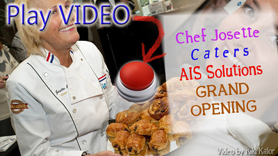 catering video chef josette normandie bakery caters ais party in north las vegas