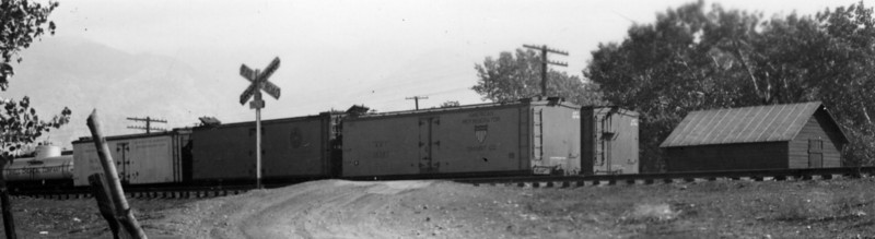 D&RGW Ogden yard. October 1940. (R.N. Slaughter Photo)
