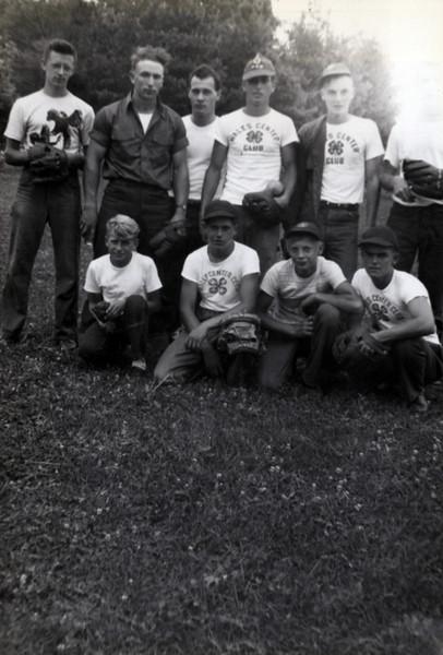 1940s John Hreck, Chrystal Kong, Hank Weiss, Lloyd Konyha, Bernie Short; Roy Dunsmore, Marvin Konyha, John glandenis, Bob Large..jpeg