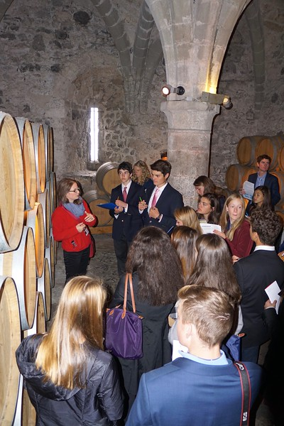 Tour in Chillon Castle