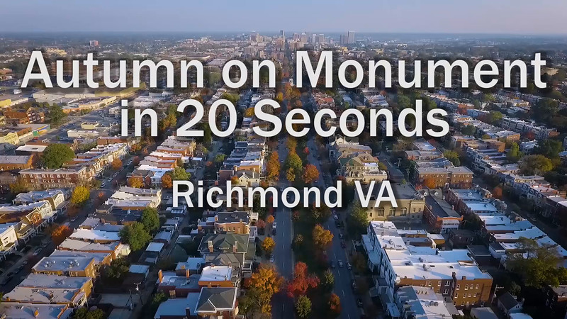 Autumn on Monument in 20 Seconds