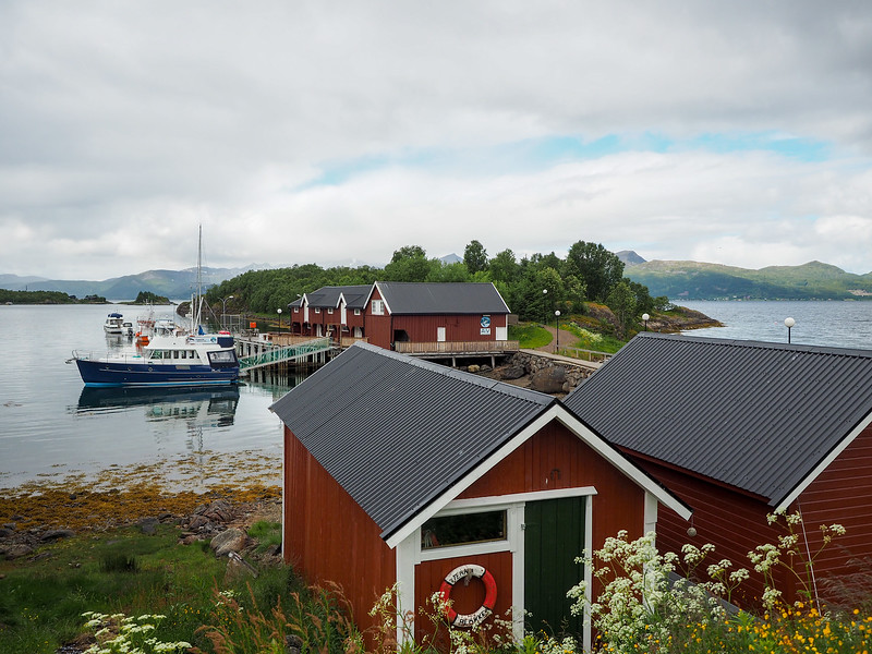 Akvakultur i Vesterålen in Norway