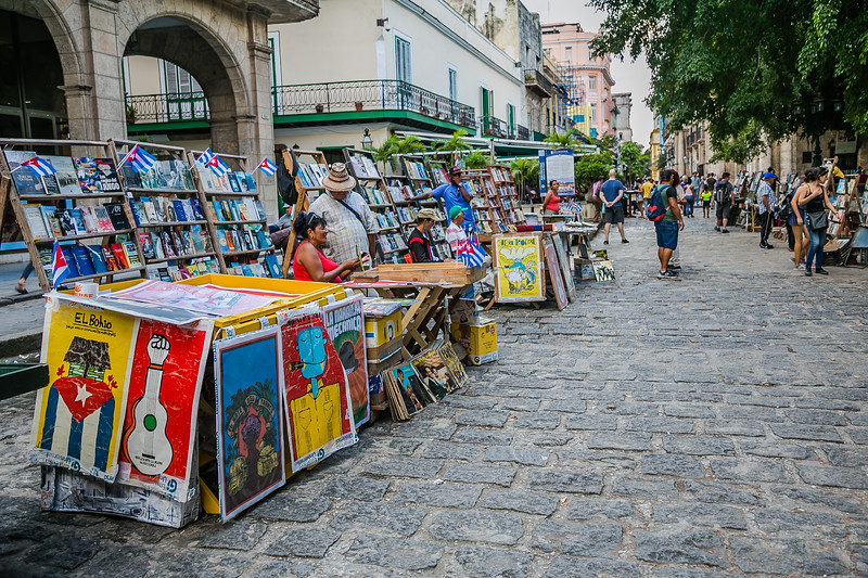 Street Market in Havana, Cuba