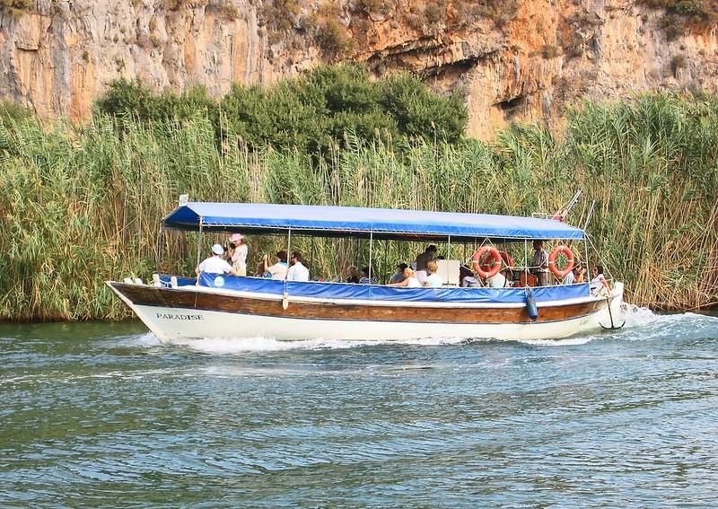 River Boat trip in Dalyan