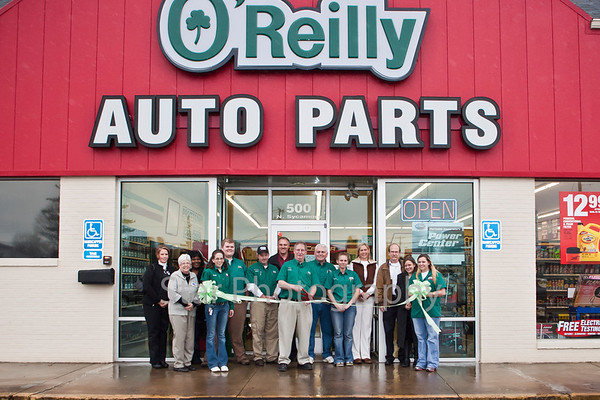 O'Reilly Auto Ribbon Cutting 11-30-11