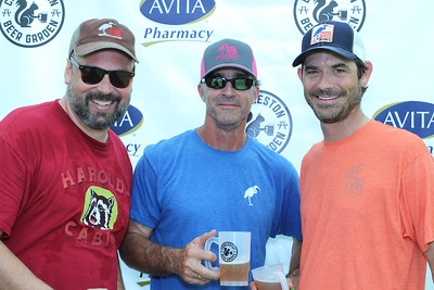 Charleston Beer Garden 2017 with Lowcountry AIDS Services