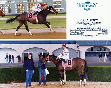 A. J. TOP - 12/22/2001