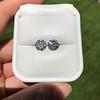 4.08ctw Old European Cut Diamond Pair, GIA I VS2, I SI1 73