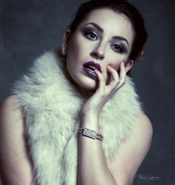 Liz White, Model Shoot, Performer