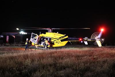 Princeton TX.  CR 490 Landing Zone 11/6/20