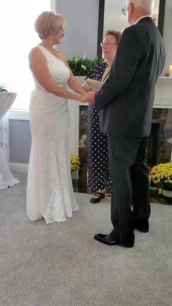 Aprill & John videos 9/19/20 Wedding