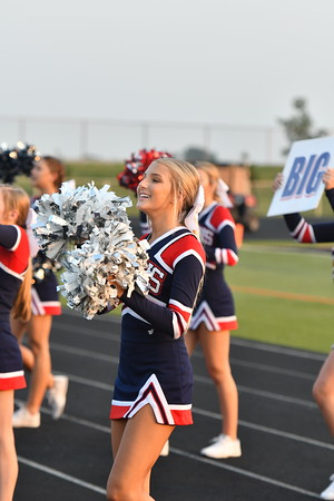 Cheer at Varsity Football vs Beatrice