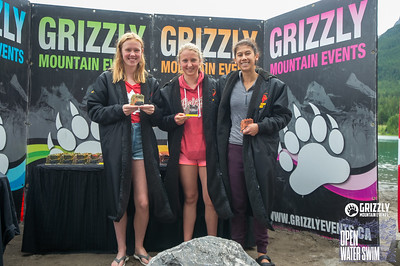 2019 Grizzly Open Water Swim Awards