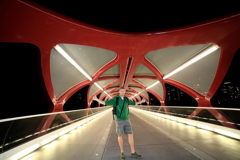 Self Portrait on Peace Bridge