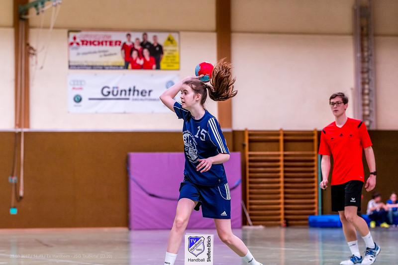 Handball Bezirksliga w. C-Jugend: TV Hardheim-JSG Taubertal (23:20)