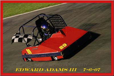 Car # 89 Edward Adams III