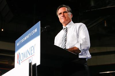 Republican Presidential Nominee Mitt Romney Campaigns at UM - October 31, 2012