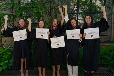 Natasha's Grad with Family and Friends