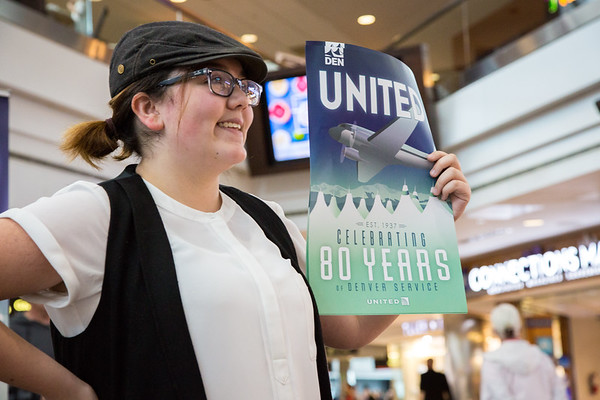 5-19-17 United Airlines Celebrates 80 Years in Denver