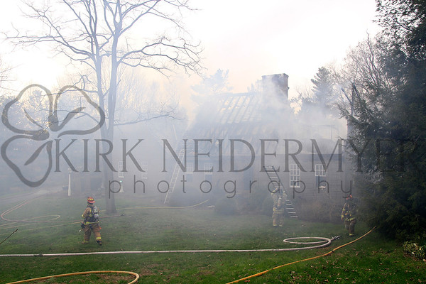 04.15.15 2nd Alarm House Fire in Strasburg Township
