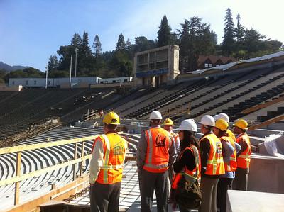 Memorial Stadium Renovation, Feb 21, 2012