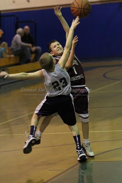 St. Isidore's vs St. Joseph's (KP) CYO Basketball 3-2-12