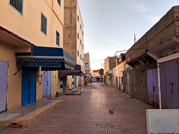 Guide to Dakhla - quiet street