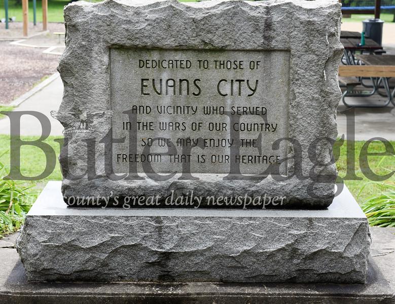 Harold Aughton/Butler Eagle: Evans City Veterans Memorial