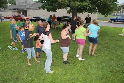 Music in the Park, Rockin' With Rosie, Kennedy Park, Lansford (7-27-2014)