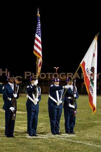 10/30/09 ROTC - LnHS vs. PKHS