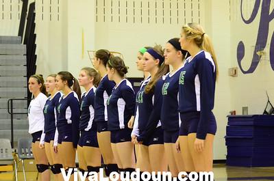 Varsity Volleyball: Woodgrove at Potomac Falls (9-19-2012 by Jeff Vennitti)