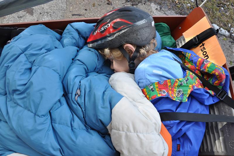 Asleep in the Bike