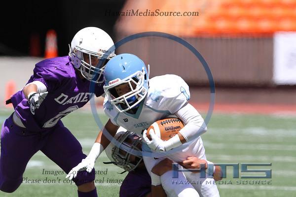 Damien JV Football - SF 9-14-13