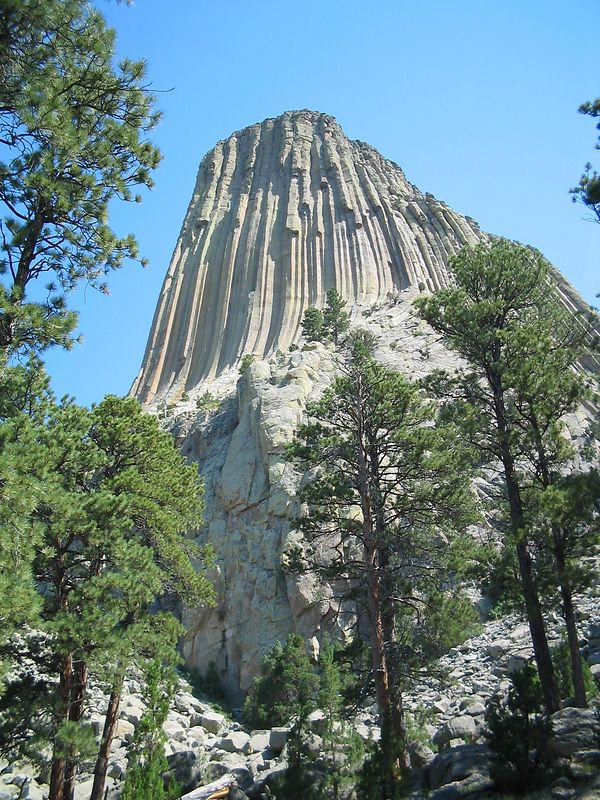 Devil's Tower, Awesome, Bob Thompson