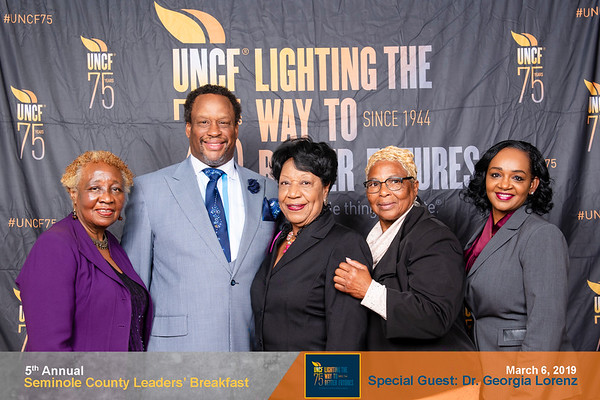 2019 UNCF SEMINOLE - STEP AND REPEAT