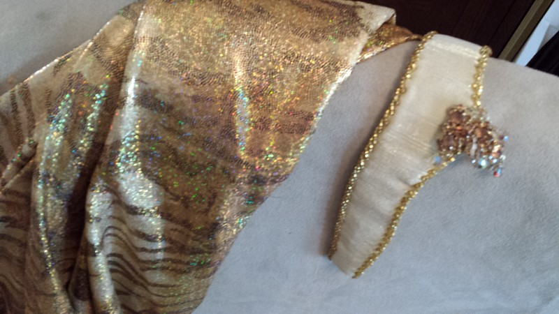 BRAND NEW EGYPIAN COSTUME: Copper