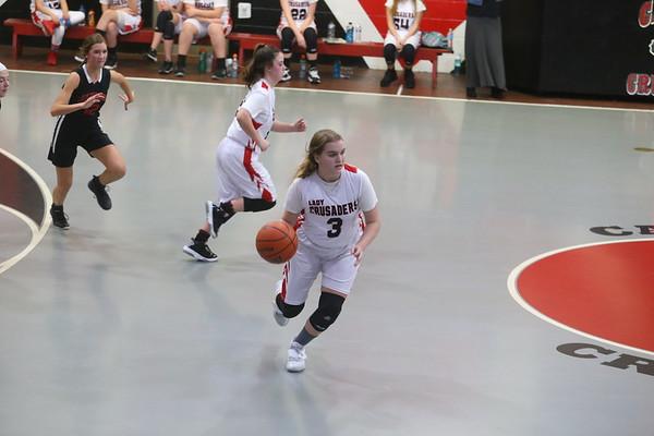 2021-01-25 Calvary Girls Basketball