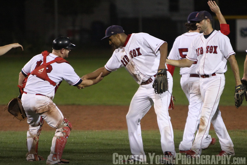Kitchener Panthers at Brantford Red Sox IBL Playoffs, Semifinals Game 5 August 27, 2013