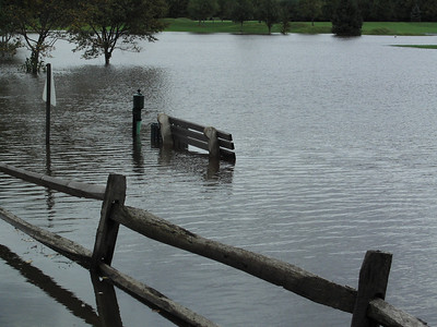 Farmington Valley after 18 inches of rain