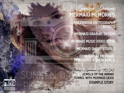Sunken Dreams Mermaid Portraiture Demo Portfolio