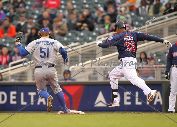 MN Twins vs Los Angeles Dodgers - 5/1/14