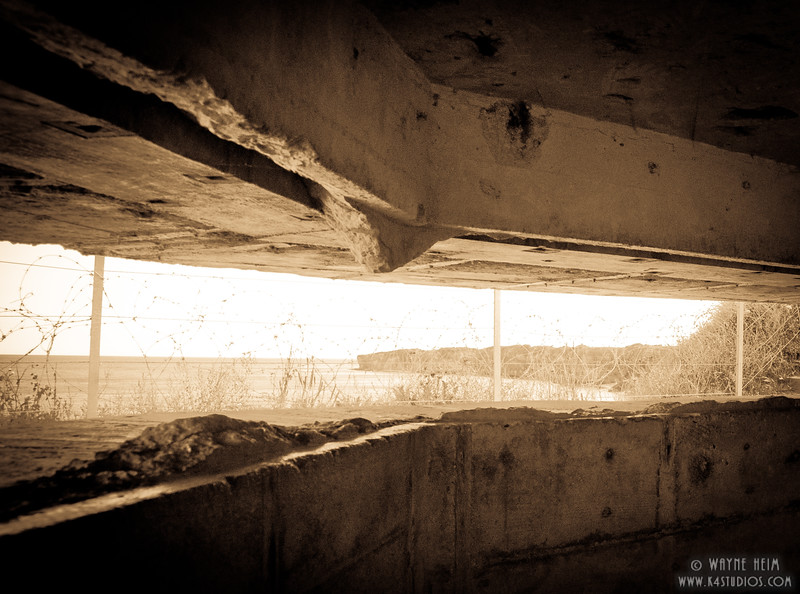 German Bunker 22   Photography by Wayne Heim