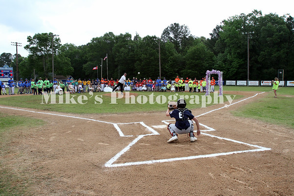 First Pitch at Opening Ceremonies 2017