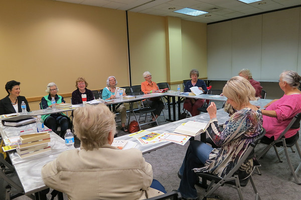 First Thursday Fiction Book Group (The Chaperone by Laura Moriarty)-April 3, 2014