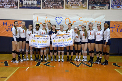Volleyball: Freedom vs. Briar Woods 10.30.14