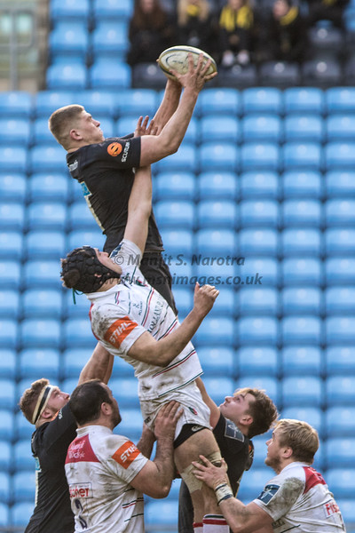 Wasps vs Leicester Tigers Anglo-Welsh Cup 04-02-2018