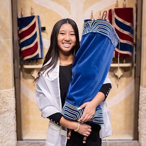 Jasmine:  Called to the Torah as a Bat Mitzvah