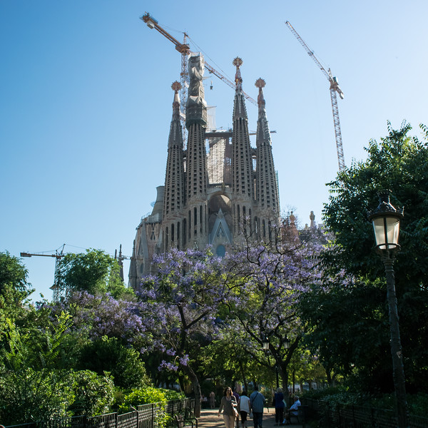 Gaudi designed landmark church