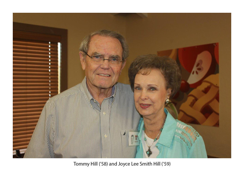 Tommy Hill '58 and Joyce Lee Smith Hill '59.jpg