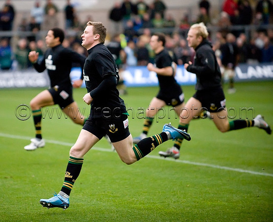 Northampton Saints vs Bath, Guinness Premiership, Franklin's Gardens, 5 December 2009